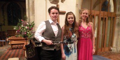 Luke, Alex and Helen
